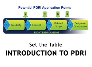 Importance of a Neutral PDRI Facilitator