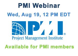 PMI Webinar August 19, 2015