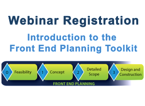 Webinar Registration Intro to Front End Planning Toolkit
