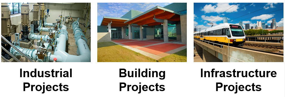 Typical municipal projects