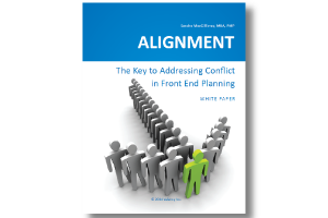 White Paper – Team Alignment: the key to addressing conflict in front end planning
