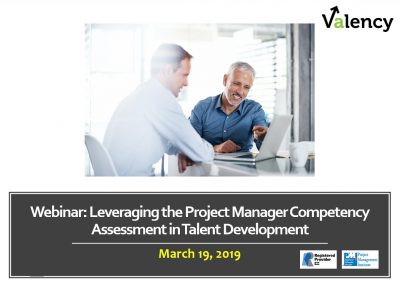 Webinar: Leveraging the Project Manager Competency Assessment in Talent Development