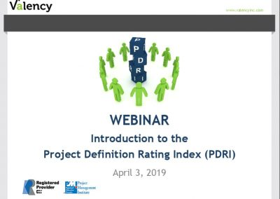 Webinar: Introduction to PDRI