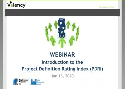 Webinar: Introduction to PDRI