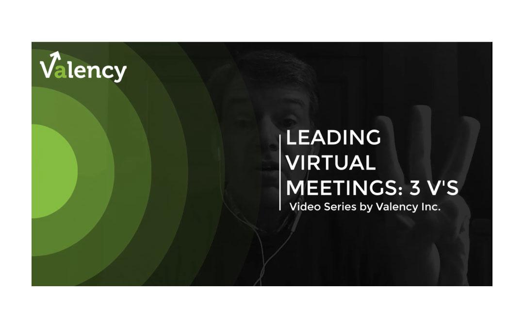 Leading Virtual Meetings: 3 Tips