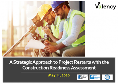 Webinar: A Strategic Approach to Project Restarts with CII's Construction Readiness Assessment